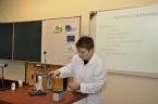 Přednáška pro učitele chemie z praxe