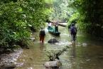Průzkum potoku Sungai Esu