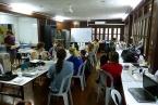 Workshop v laboratoři stanice