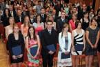 Promoce absolventů PřF OU - červenec 2014<br>Copyright: Kamila Kolowratová