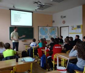 Exkurze ZŠ Orlová na Wichterlově gymnáziu