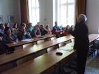 Přednáška prof.Kadłubce u příležitosti jmenování emeritním profesorem