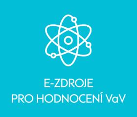 E-zdroje prohodnocení VaV