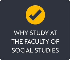 Why study at The Faculty od Social Study