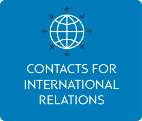 Contact for international relations