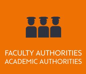Faculty authorities, academic authorities