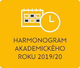 Harmonogram AR 2019/2020
