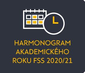Harmonogram AR 2020/2021
