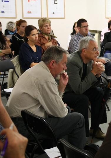 Z prostorového sympozia Město vroce 2011