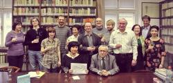 Členové Centra regionálních studií vKnihovně Vojtěcha Martínka