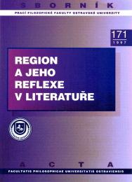 Publikace Region ajeho reflexe vliteratuře