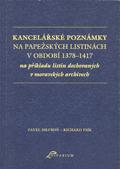 Kancelářské poznámky napapežských listinách vobdobí 1378-1417