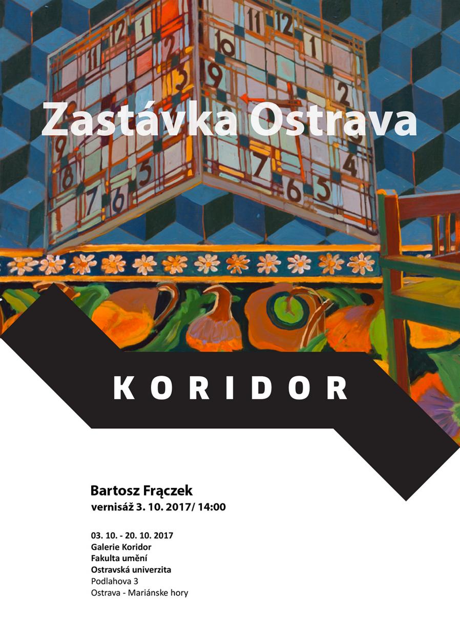 Pozvánka navýstavu Zastávka Ostrava