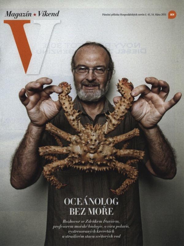 Oceánolog bez moře - velký rozhovor seZdeňkem Ďurišem, profesorem mořské biologie