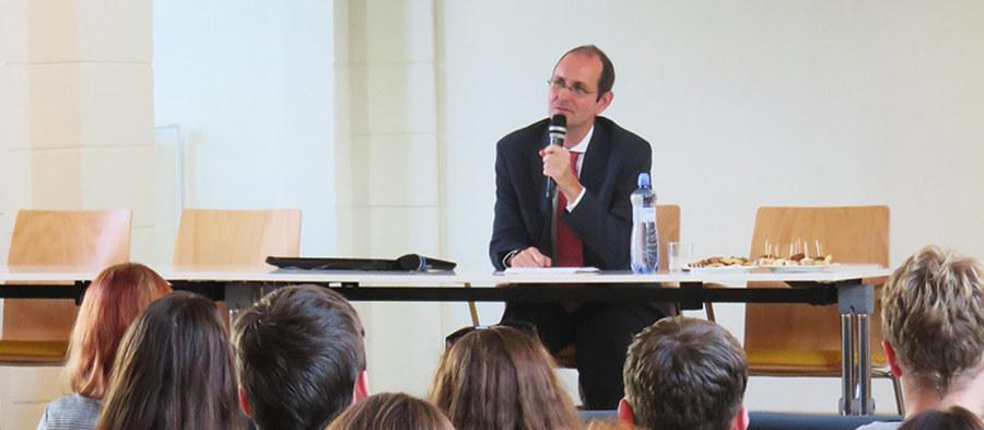 Německý velvyslanec hovořil oevropských výzvách
