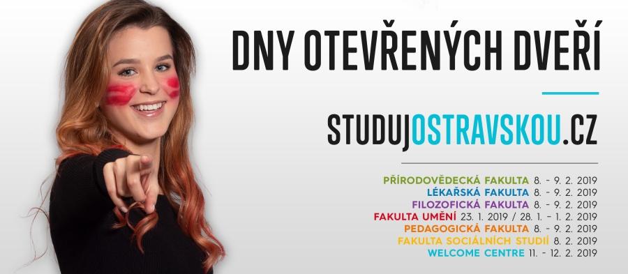 Dny otevřených dveří Ostravské univerzity