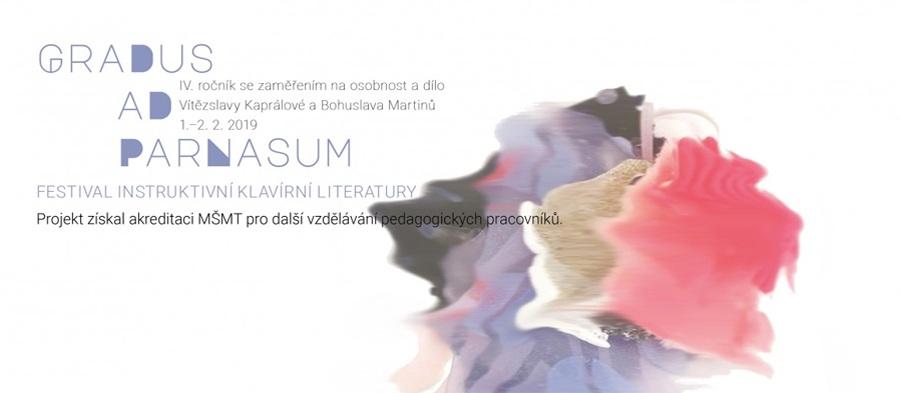 Gradus ad Parnassum - festival, který získal akreditaci