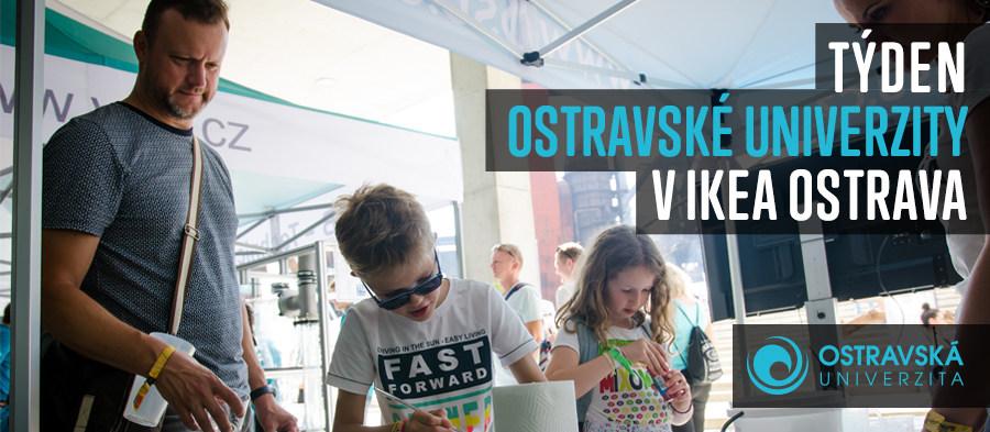 Týden Ostravské univerzity vIKEA Ostrava