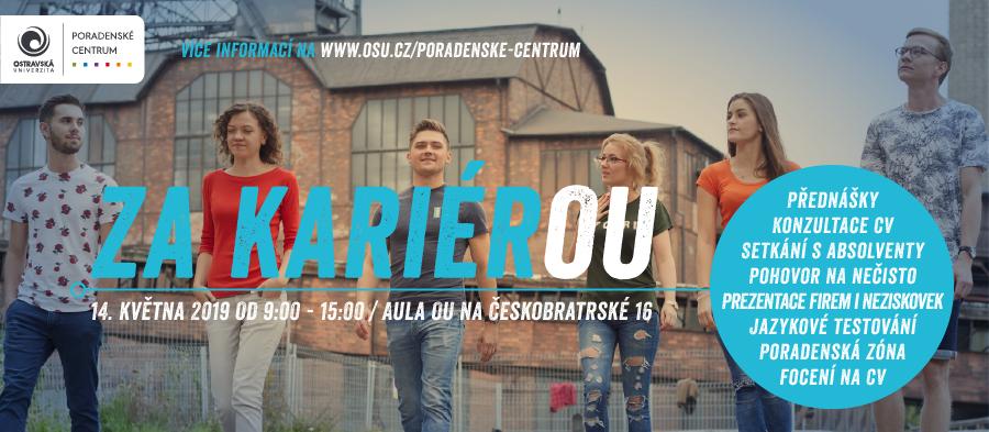 Kariérní den Ostravské univerzity seblíží