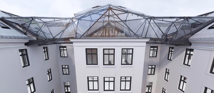 Rekonstrukce budovy PřF OU