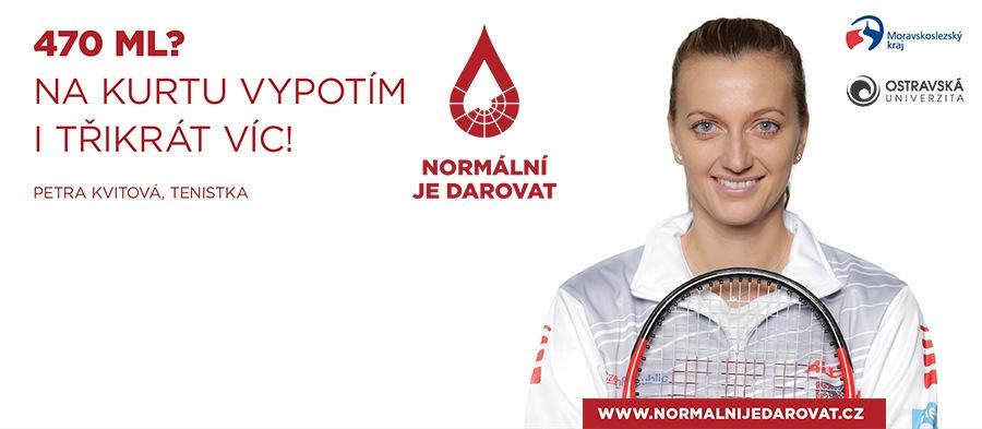 Ostravská univerzita partnerem kampaně Normální je darovat