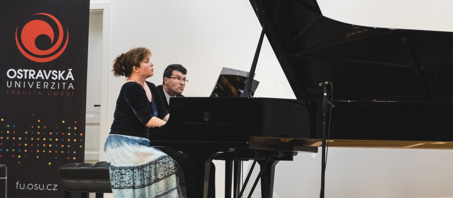 Vánoční koncert klavírního dua Novotná – Michel