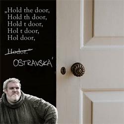 Podržíme vám dveře, ať se děje, co se děje. Ale otevřené!