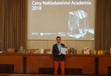 Nový talent české vědy? Podle Nakladatelství Academia je jím náš absolvent Martin Bartas.