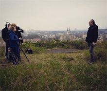 Takto Jan Lenart z KFG a Petr Kočárek z KBE rozšiřují obzory štábu České televize.