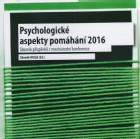 Psychologické aspekty pomáhání 2016 - CD