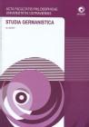 Studia Germanistica č.20, AFPUO