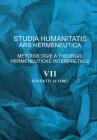 Studia humanitatis ars hermeneutica VII.