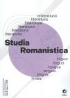 Studia Romanistica vol19 12019