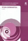 Studia Germanistica č.25, AFPUO