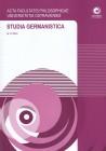 Studia Germanistica č 27 AFPUO